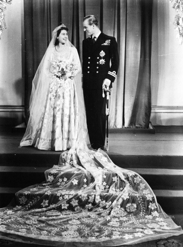 Princezna Alžběta a princ Philip, 1947
