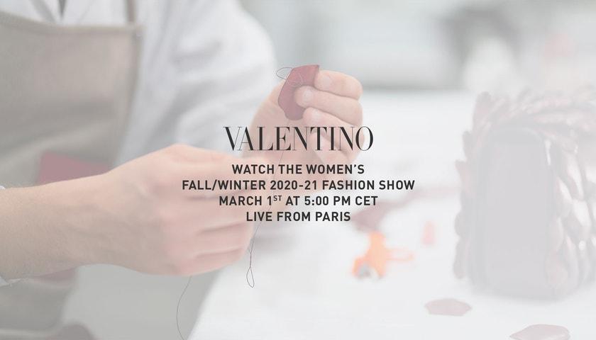 Živě z Paříže: Valentino prêt-à-porter fall–winter 2020/2021