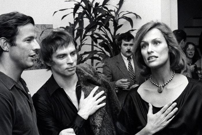 Peter Beard, Nureyev a Lauren Hutton, 1975