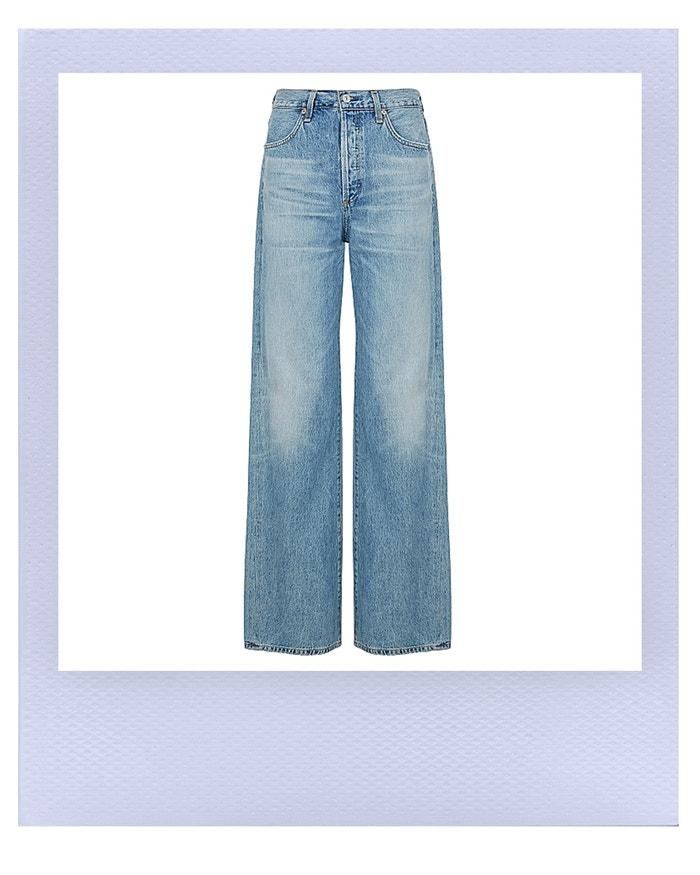 Annina light blue wide-leg jeans, Citizens of Humanity, sold by Harvey Nichols, 6,800.00 CZK  Autor: Harvey Nichols
