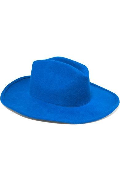 Vlněný klobouk, Clyde, prodává Net-a-Porter, 303 € Autor: Archiv firmy