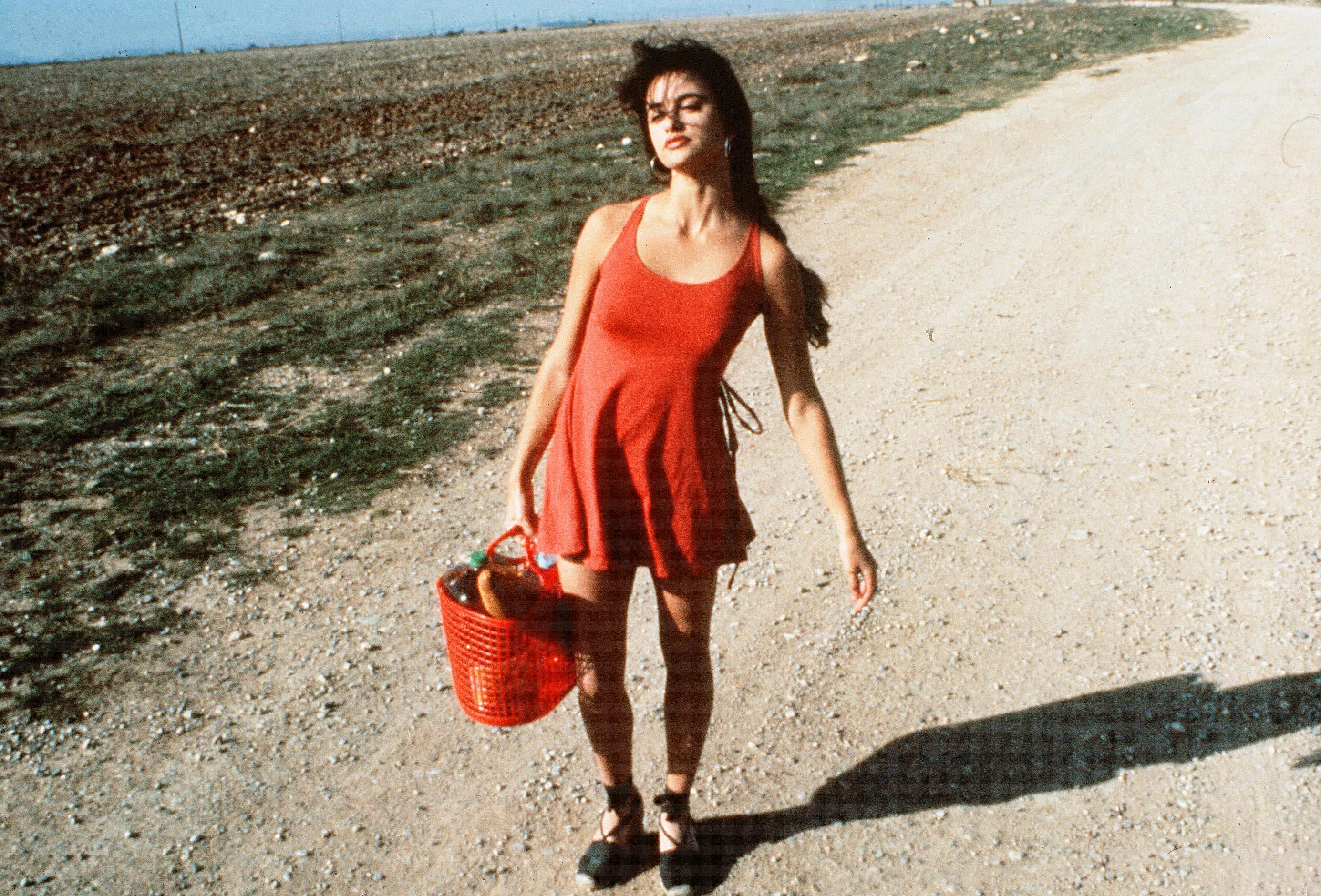 Penélope Cruz ve filmu Šunka, šunka, 1992