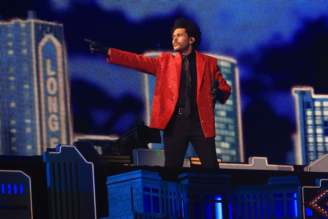 The Weeknd na Super Bowl Halftime Show, Raymond James Stadium, únor 2020