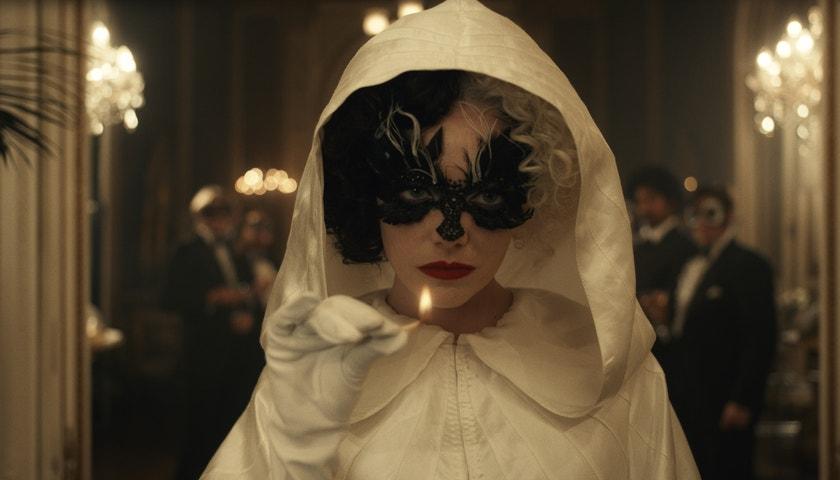 Skrytý význam divokého make-upu Emmy Stone ve filmu Cruella