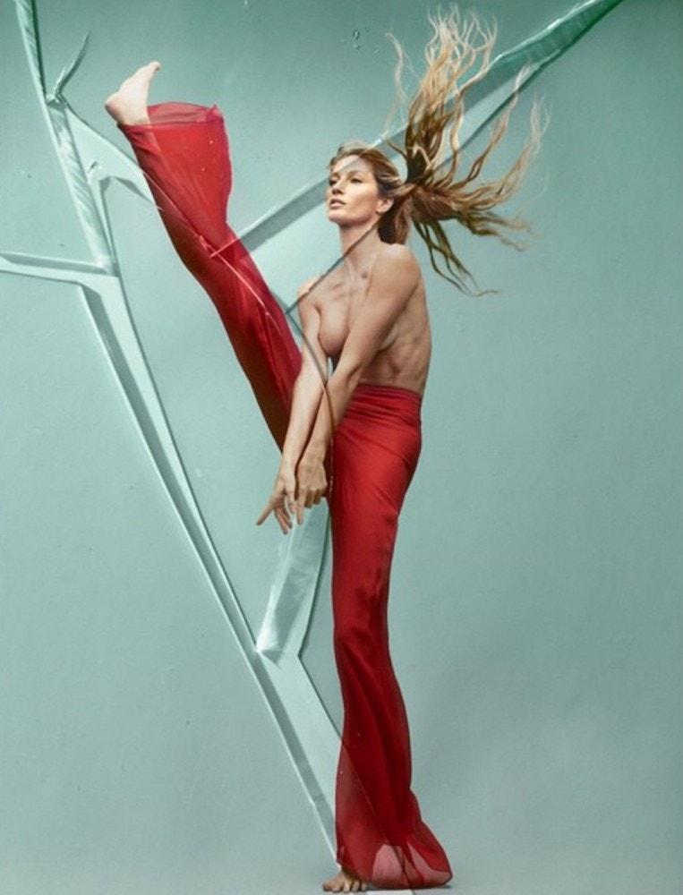 Gisele Bündchen pro Vogue Brazil