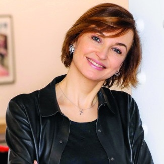 Karina Dobrotvorskaya,  Executive Director,  Editorial Development,  Conde Nast International