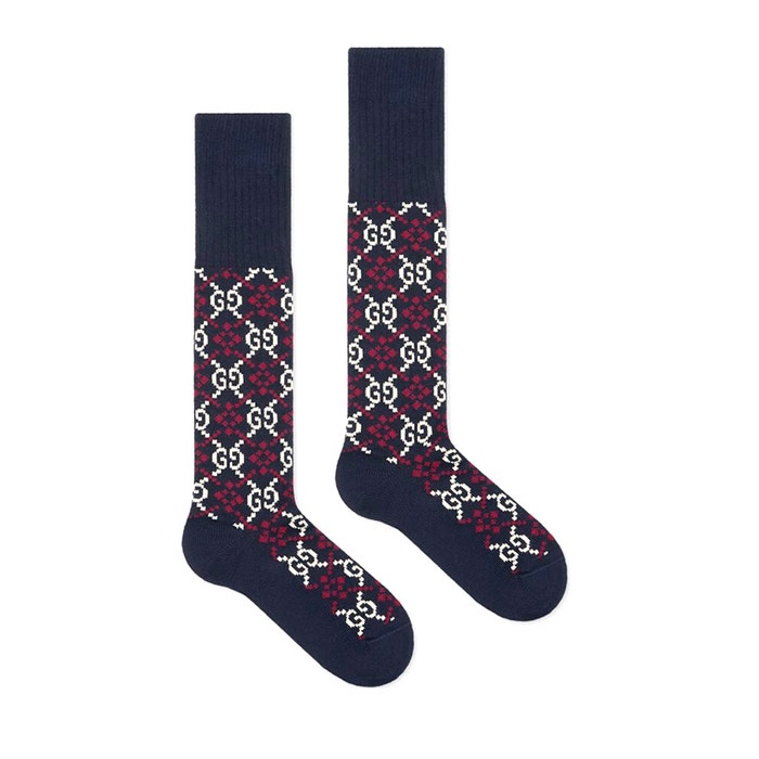 GG Diamond bavlněné ponožky, Gucci, gucci.com/cz, 100 € Autor: Archiv značky