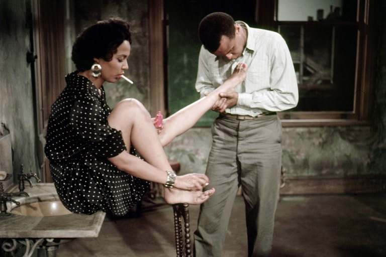 Dorothy Dandridge a Harry Belafonte ve filmu Carmen Jones