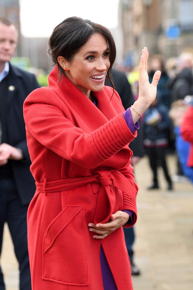 Meghan, vévodkyně ze Sussexu, Birkenhead, leden 2019