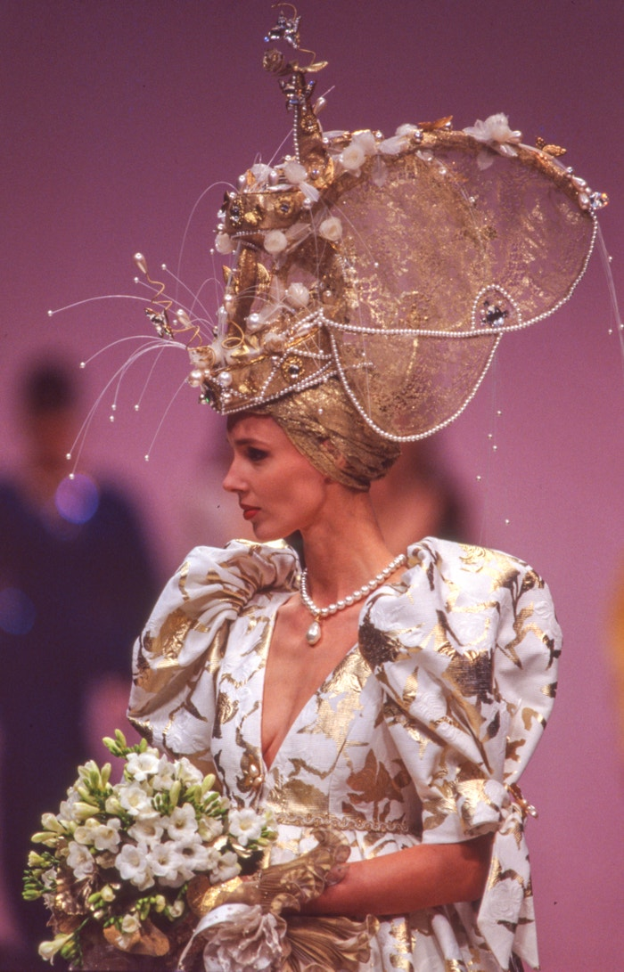 Haute Couture, 1989 Autor: Daniel SIMON/Gamma-Rapho via Getty Images