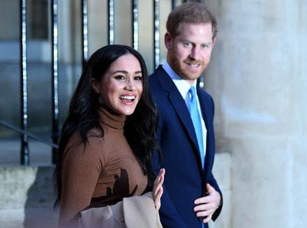Princ Harry a vévodkyně Meghan v Londýně, 7. ledna 2020