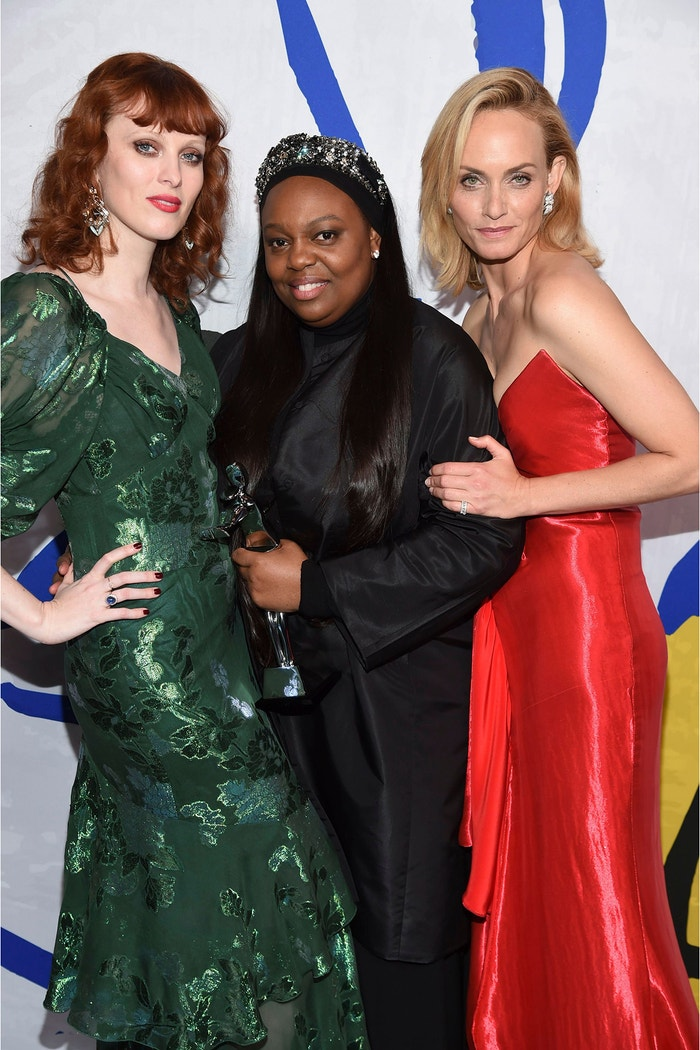 Karen Elson, Pat McGrath a Amber Valletta