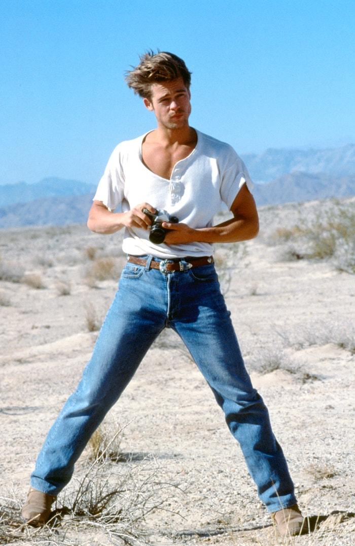Brad Pitt, 1990 Autor: Iain McKelly/Photoshot/Getty Images