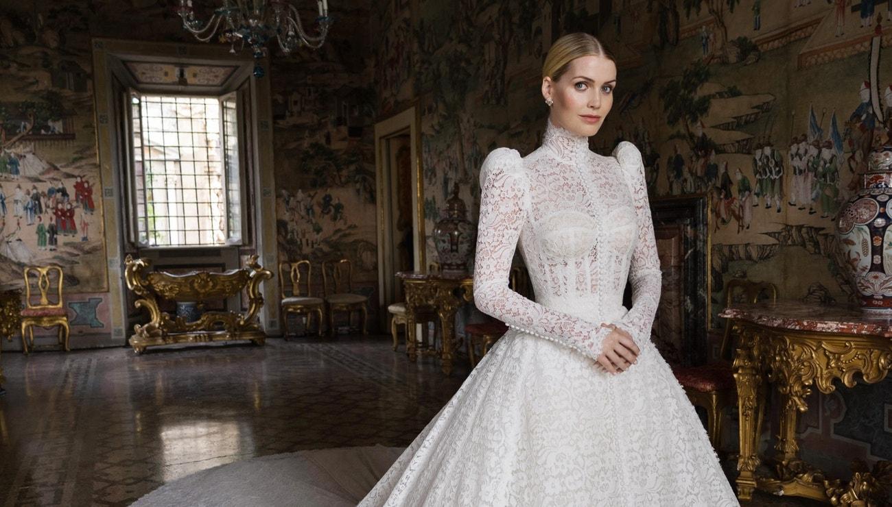 Vše o sedmi svatebních šatech lady Kitty Spencer