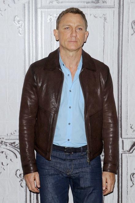 Daniel Craig na promítání Spectre v New Yorku, listopad 2015