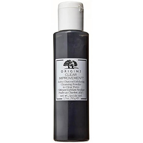 Clear Improvement Charcoal Exfoliating Powder, Origins, 810 Kč