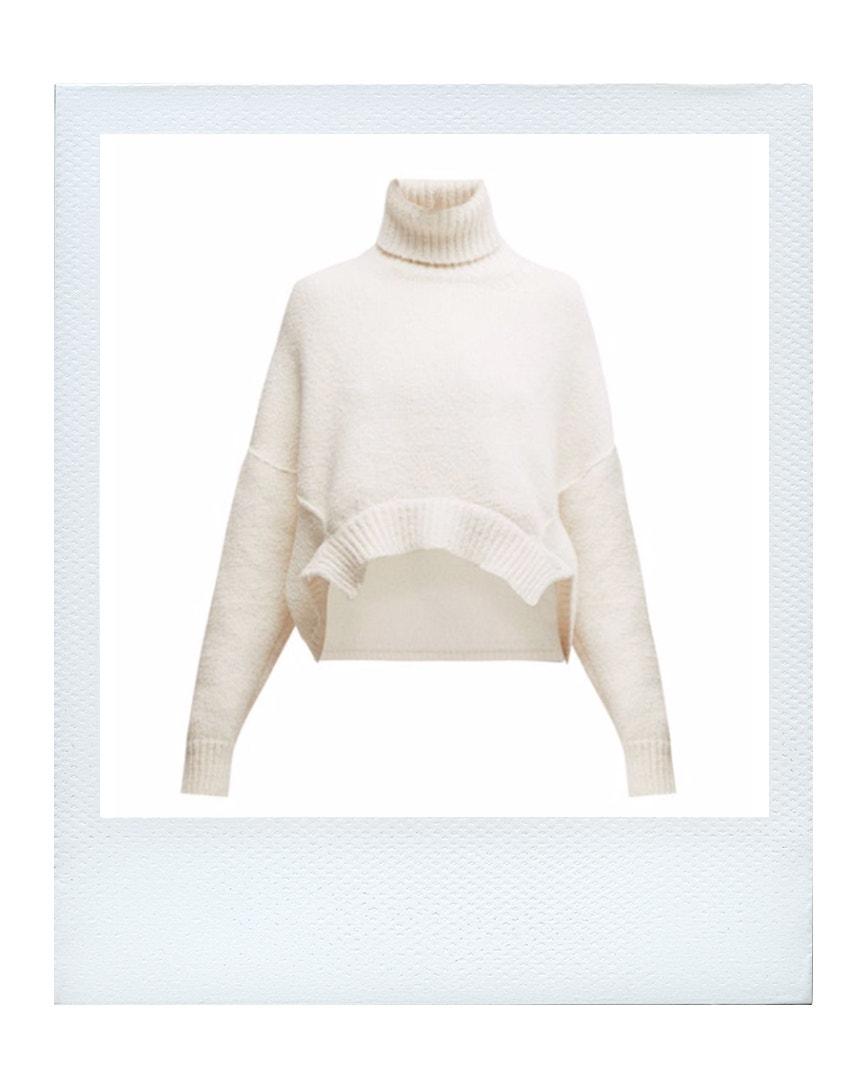 Oversize zkrácený svetr, Golden Goose  prodává Matchesfashion, 545 €