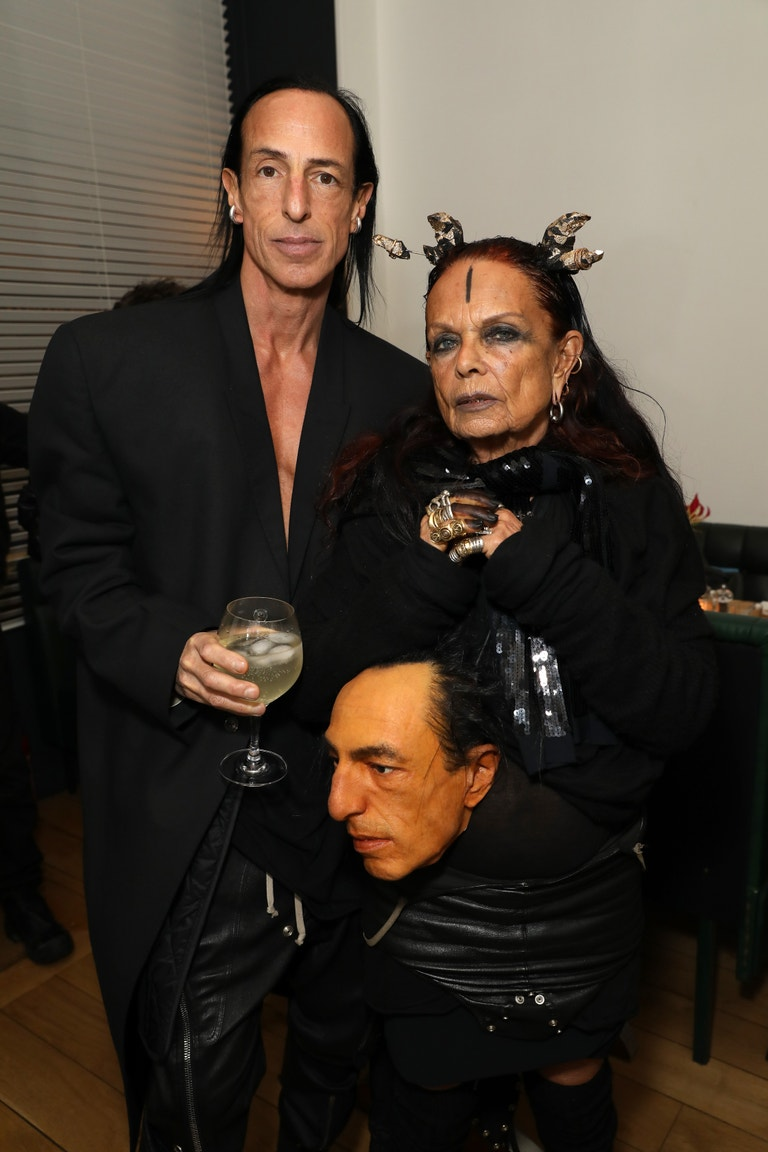 Michèle Lamy a Rick Owens