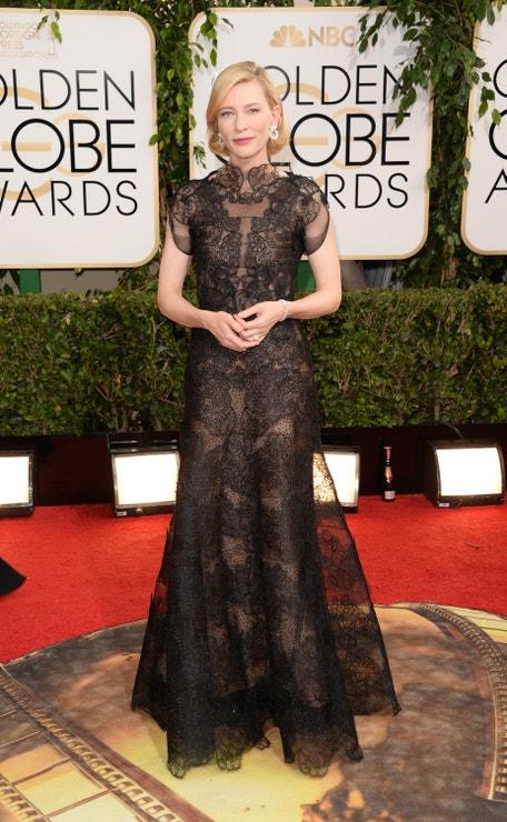 Cate Blanchett na Zlatých glóbech, 2014