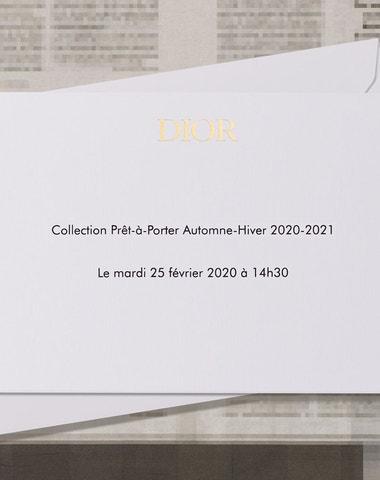 Živě z Paříže: Dior Autumn–Winter 2020/2021