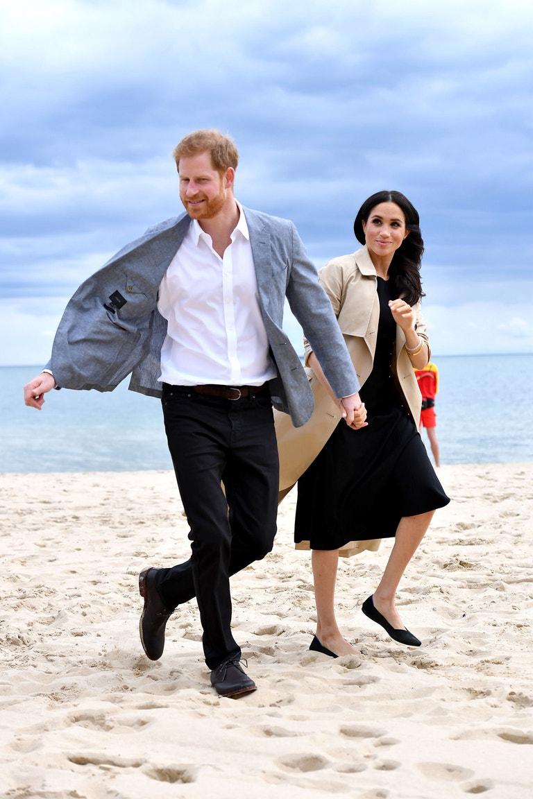 Princ Harry, vévoda ze Sussexu, a Meghan, vévodkyně ze Sussexu, na návštěvě Austrálie, říjen 2018