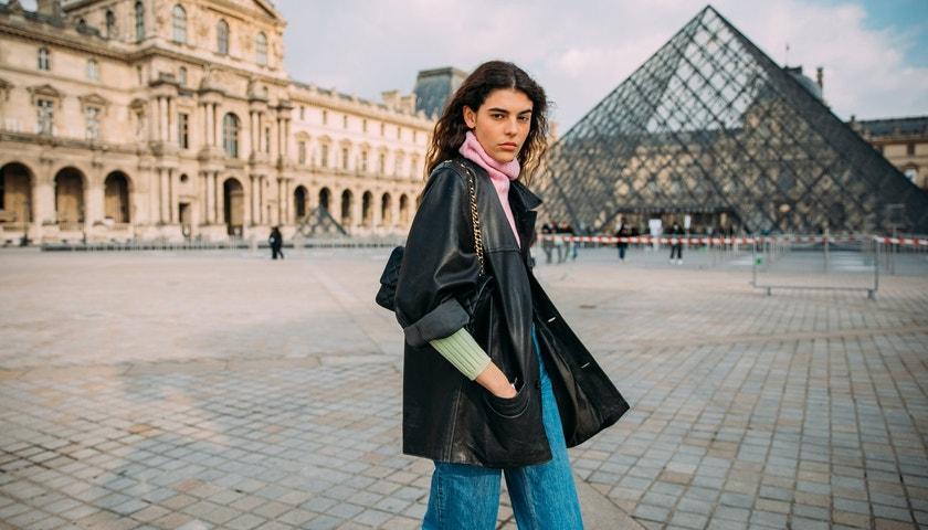 Jak nosit vintage koženou bundu podle supermodelek