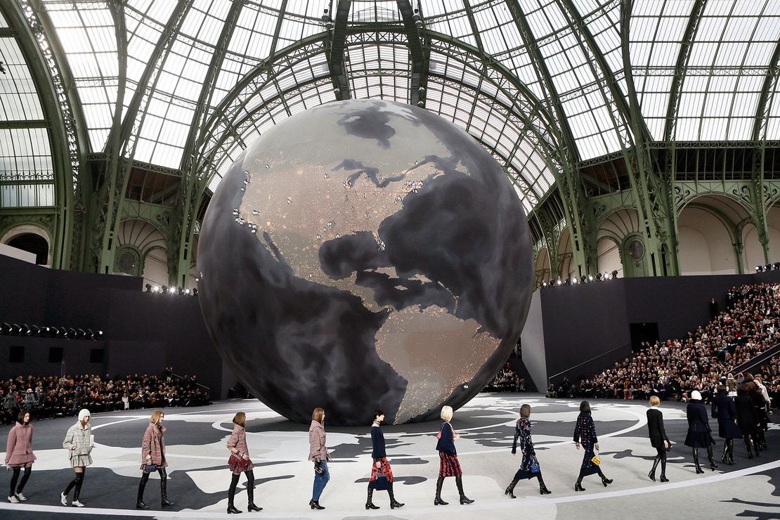 Chanel přehlídka prêt-à-porter podzim - zima 2013/2014, březen 2013