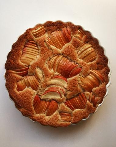 Vogue v kuchyni #9: Jablečný koláč à la Hermès