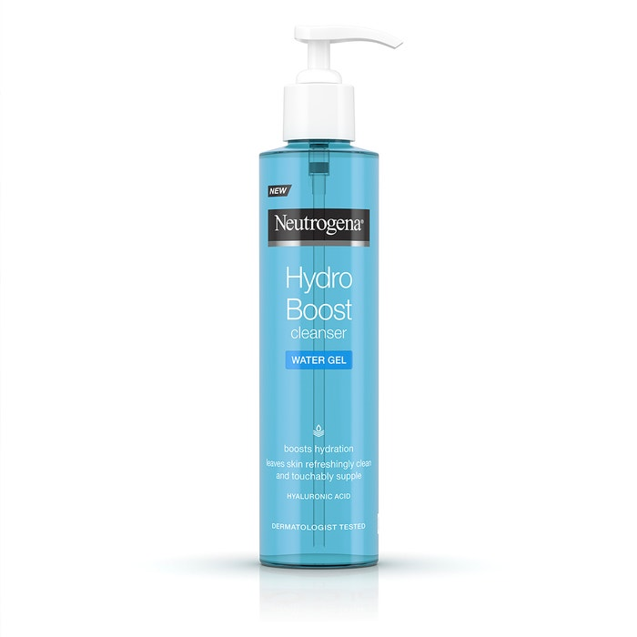 Nepodceňujte důkladně hydratovanou pokožku. K ní vás spolehlivě dovede značka Neutrogena a její Hydro Boost pleťový čisticí gel...    Autor: Archiv značky