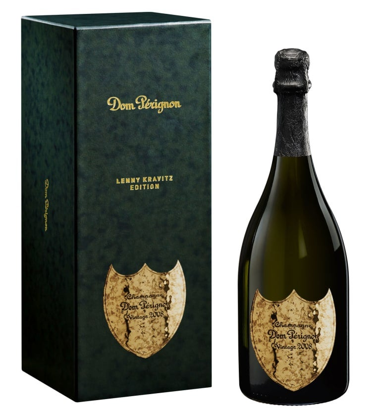 Dom Pérignon 2008 by Lenny Krawitz Blanc, Dom Pérignon, prodává Gatroklub.cz, 3 999 Kč Autor: Archiv firmy