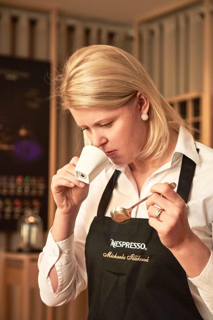Michaela Illíková, Coffee Ambassador Nespresso