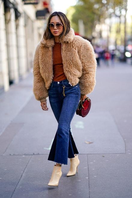 Aimee Song , Paris Fashion Week Womenswear Spring/Summer 2018