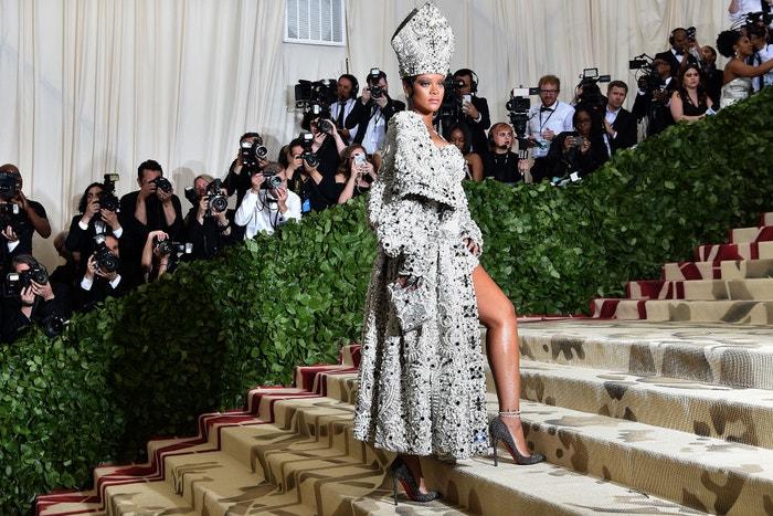 Rihanna na Met Gala, 2018  Autor: HECTOR RETAMAL/AFP via Getty Images