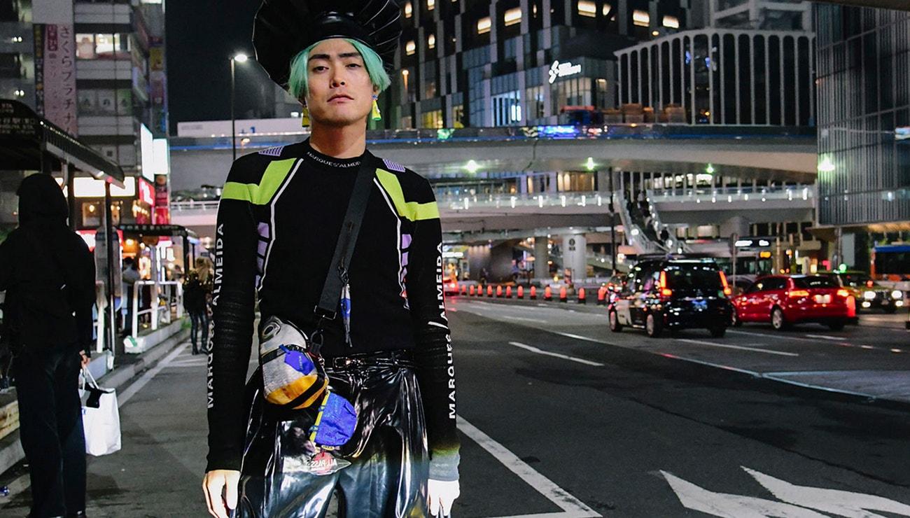 Street style z tokijského fashion weeku