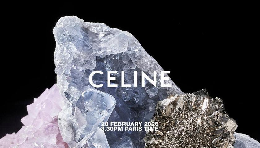 Živě z Paříže: Celine Autumn–Winter 2020/2021