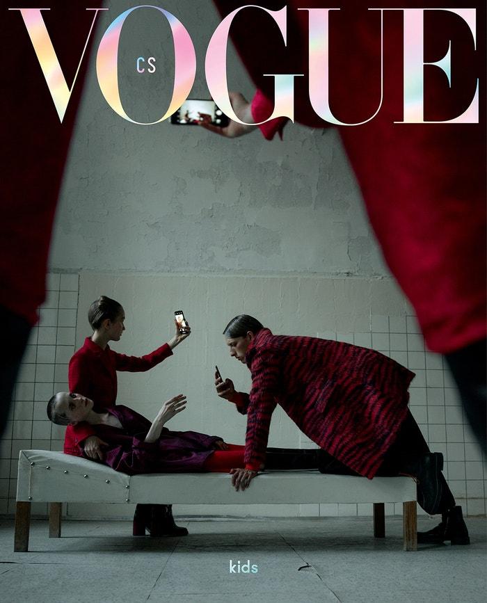 Vogue CS, číslo 2 - limitovaná obálka, říjen 2018 Autor: Evelyn Bencicova
