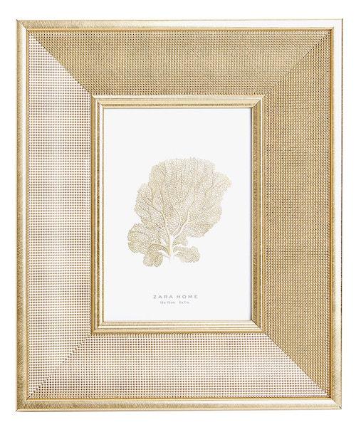 Zlatý rámeček na fotky, Zara Home, prodává ZaraHome.com, 799 Kč