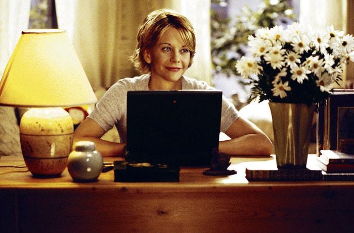 Meg Ryan ve filmu Láska přes internet