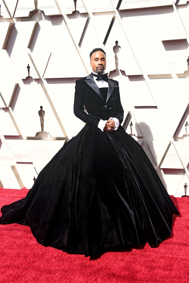 Billy Porter v modelu Christian Siriano