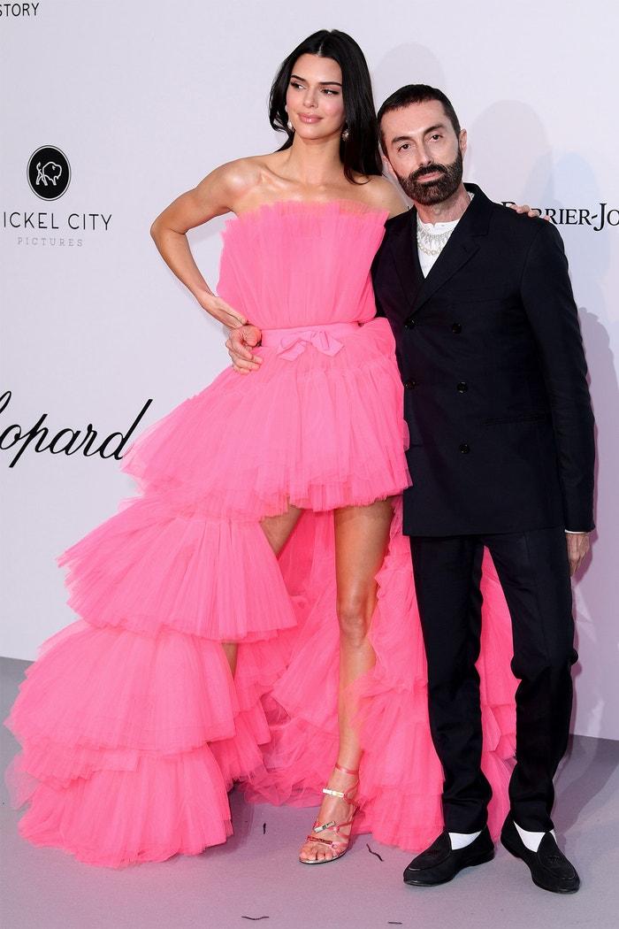Kendall Jenner a Giambattista Valli na amfAR gala v Cannes           Autor: Rex Features