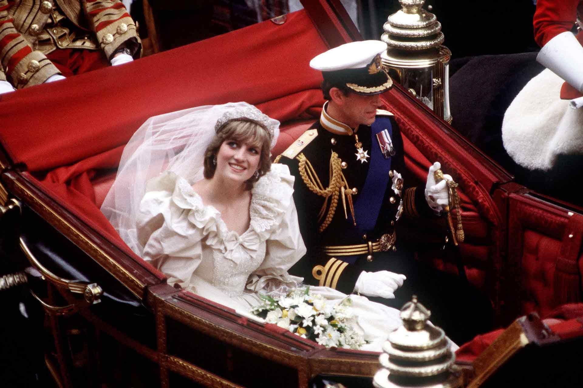 Princ Charles a Diana Spencer, 1981 Autor: Getty Images