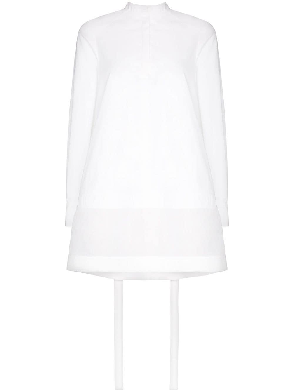Bílé trapézové šaty, VALENTINO