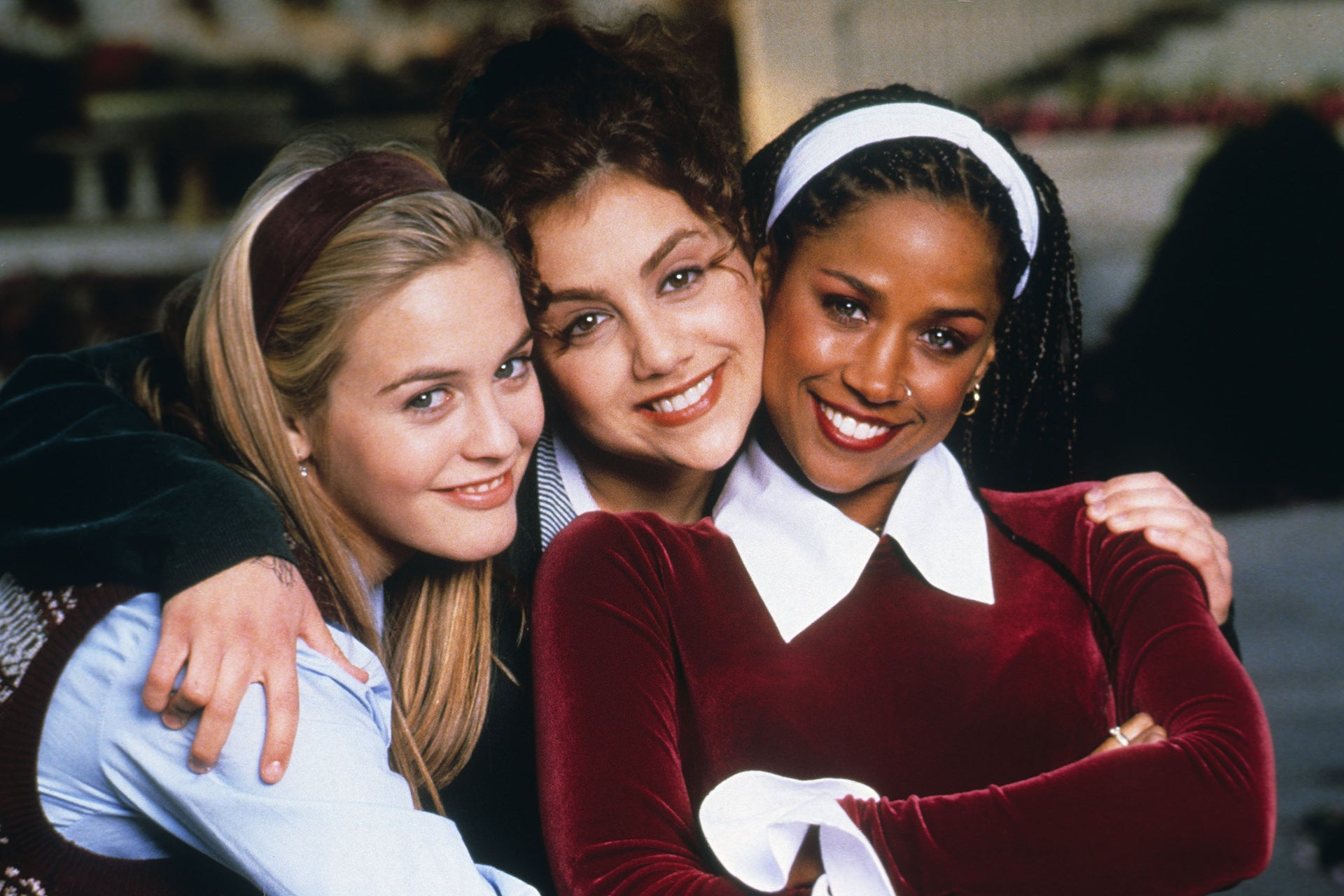 Alicia Silverstone, Brittany Murphy, Stacey Dash, 1995 Autor: Paramount/Kobal/Shutterstock/REX