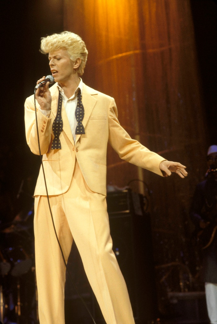David Bowie, Madison Square Garden, 1983 Autor: Ebet Roberts/Redferns/Getty Images