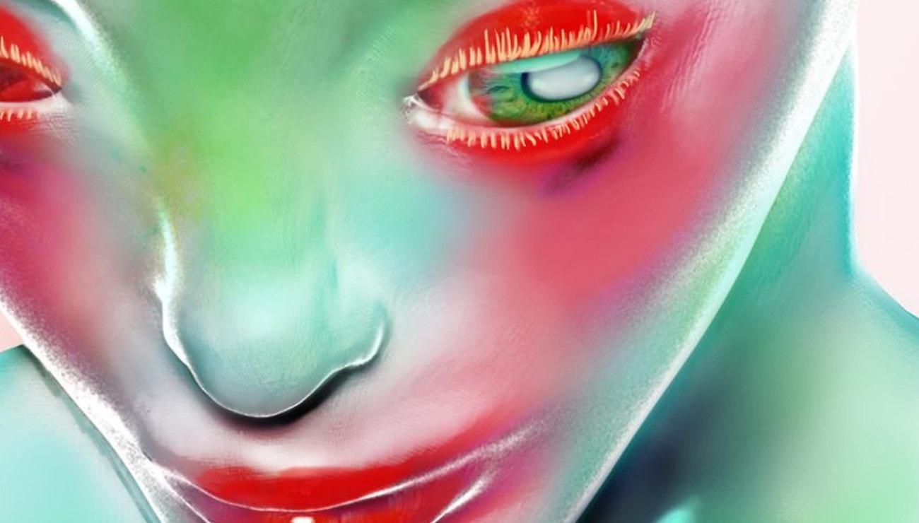 Nečekaná make-up spojení: Japonští umělci, komiksáci, nová Kardashian a Hunter Schafer, jak ji ještě neznáte
