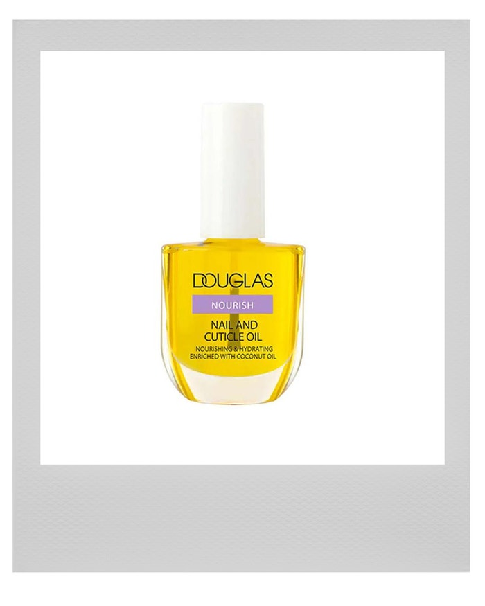 Rozjasňujicí olej na nehty a nehtovou kůžičku Nourish Nail and Cuticle Oil, DOUGLAS, prodává Douglas.cz, 209 Kč