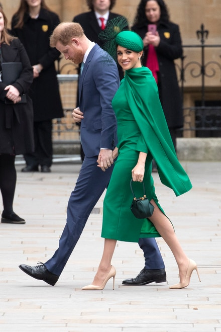 Princ Harry a vévodkyně Meghan, 9. března 2020 v Londýně