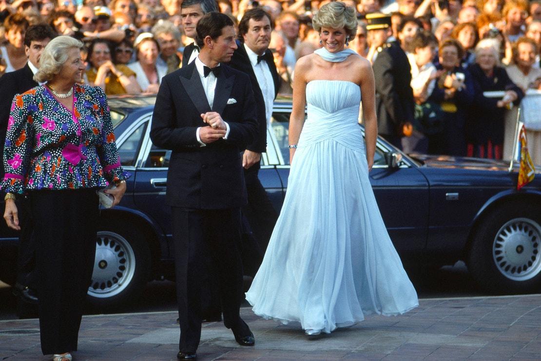 Cannes 1987, princ Charles a princezna Diana