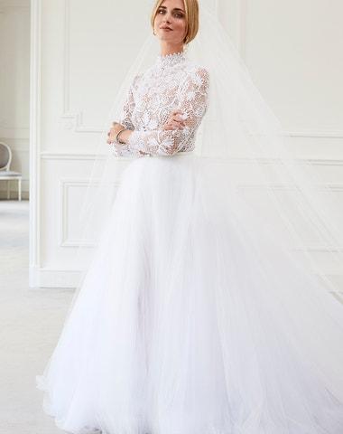 Exkluzivně: Chiara Ferragni a její svatební šaty Dior Haute Couture