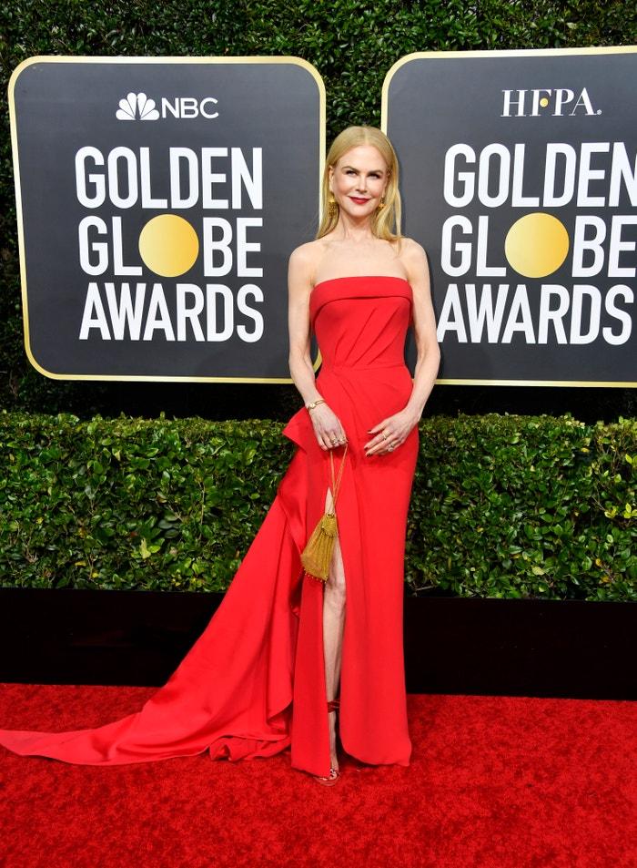 Nicole Kidman v šatech Versace          Autor: Getty Images